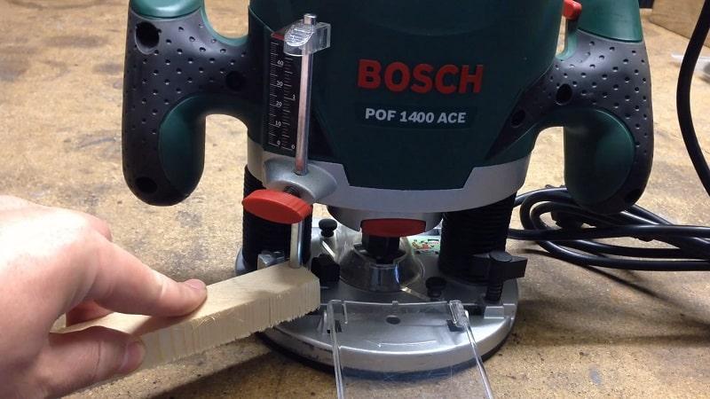 Bosch POF 1400 ACE Fresadora comprar online barato